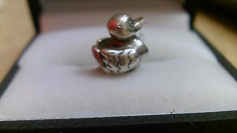 Pandora Silver Duck Charm 925 Silver 2.89g