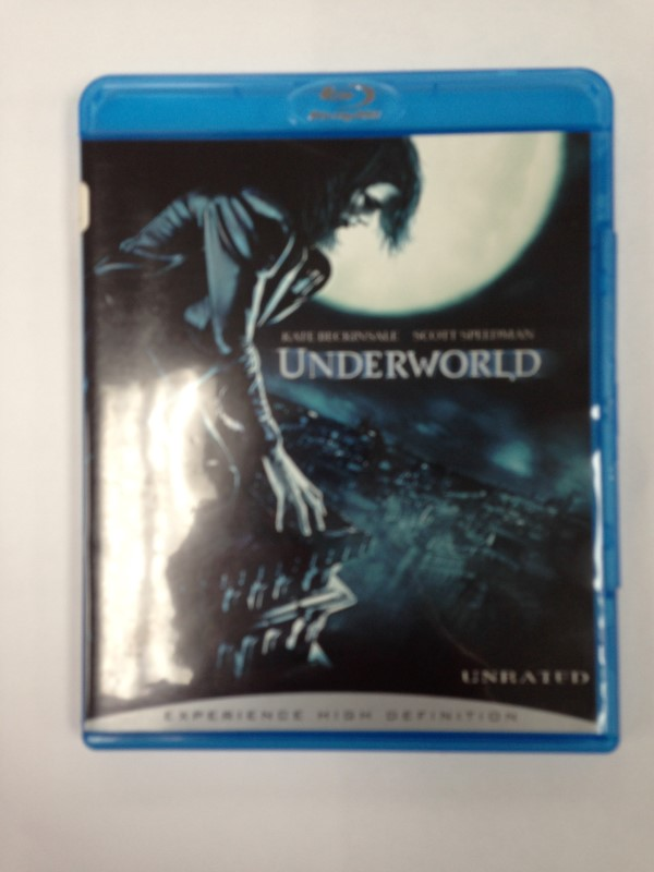 UNDERWORLD UNRATED ACTION ADVENTURE BLU-RAY MOVIE, GOOD CONDITION