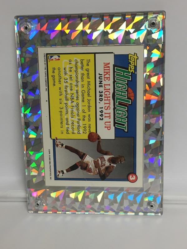 TOPPS Sports Memorabilia 1991-92 HIGHLIGHT MICHAEL JORDAN