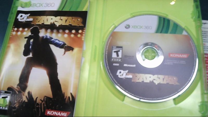 MICROSOFT Microsoft XBOX 360 Game DEF JAM RAPSTAR