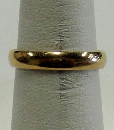 Lady's Gold Wedding Band 14K Yellow Gold 1.59dwt