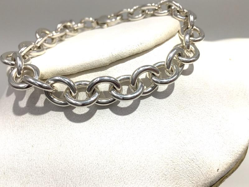 Tiffany & Co 925 Sterling Silver Return to TIffany Tag Bracelet