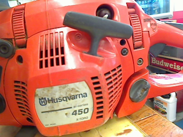 HUSQVARNA Chainsaw 450 X-TORQ