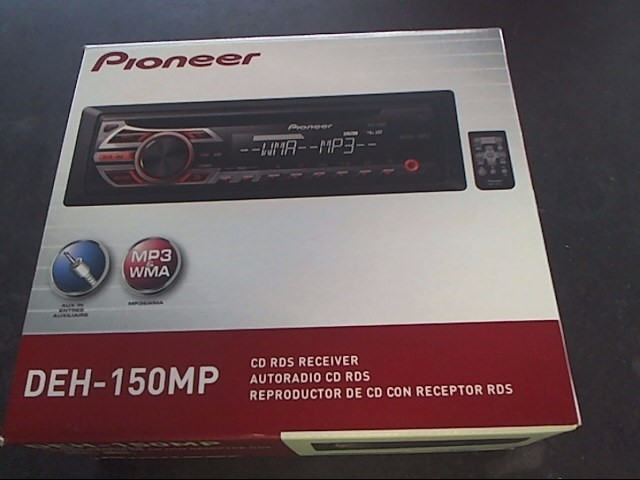 PIONEER ELECTRONICS Car Audio DEH-150MP