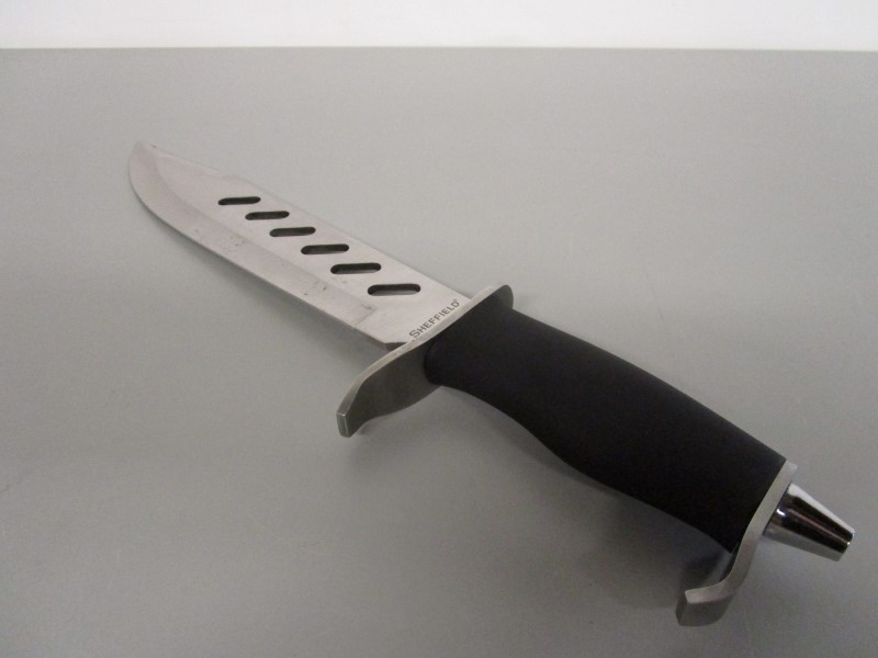 """SHEFFIELD ROGUE 10"""" FIXED BLADE HUNTING KNIFE"""