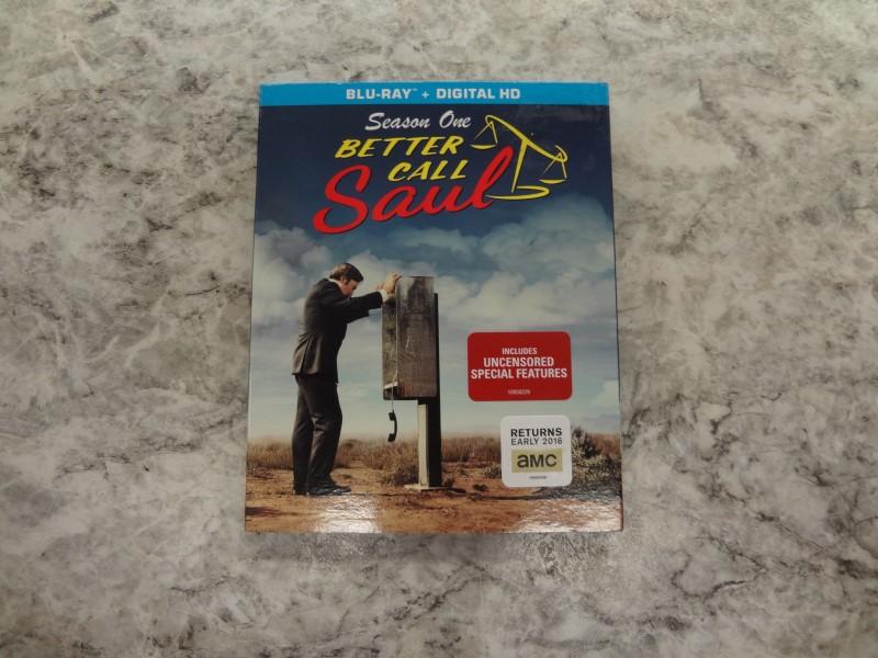 BLU-RAY BOX SET BETTER CALL SAUL SEASON ONE
