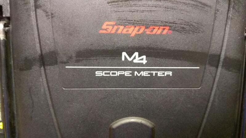 SNAP ON Diagnostic Tool/Equipment M4 SCOPE METER EEHD301-6