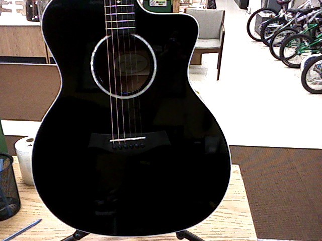 TAYLOR GUITARS Electric-Acoustic Guitar ACOUSTIC GUITAR 214CE-BLK
