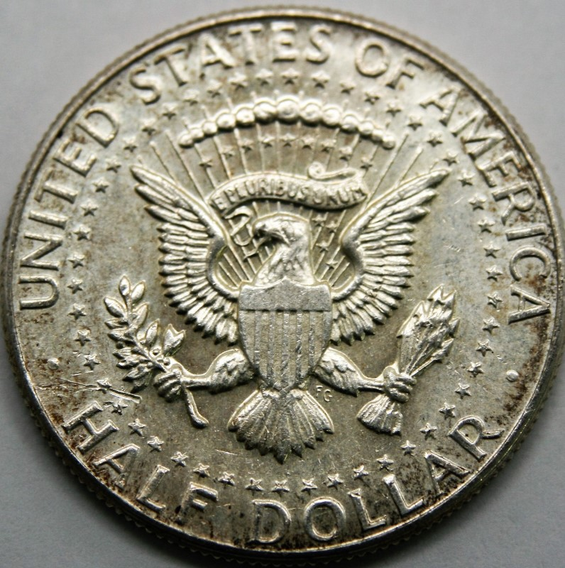 UNITED STATES SILVER 1964 KENNEDY HALF DOLLAR