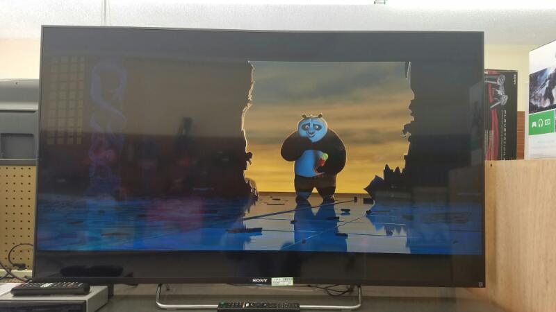 "SONY BRAVIA 55"" LED 1080P 3D SMART HDTV KDL-55W800C"