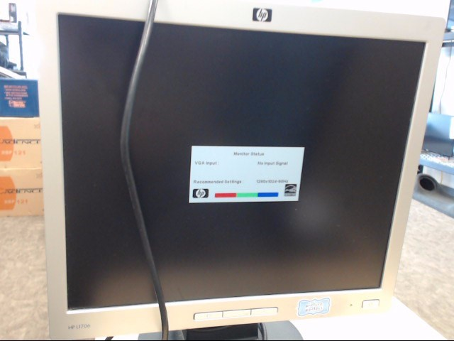 HEWLETT PACKARD Monitor L1706