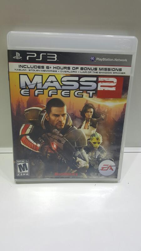SONY PS3 MASS EFFECT 2