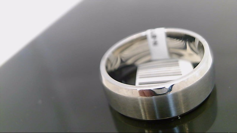Gent's Wedding Band Silver Stainless 8.5g