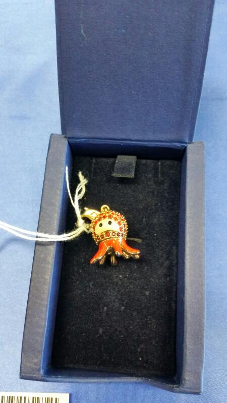 SWAROVSKI Collectible Plate/Figurine OCTOPUS CHARM