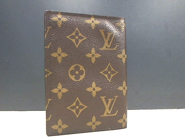 LOUIS VUITTON MONOGRAM PASSPORT COVER FOLDER