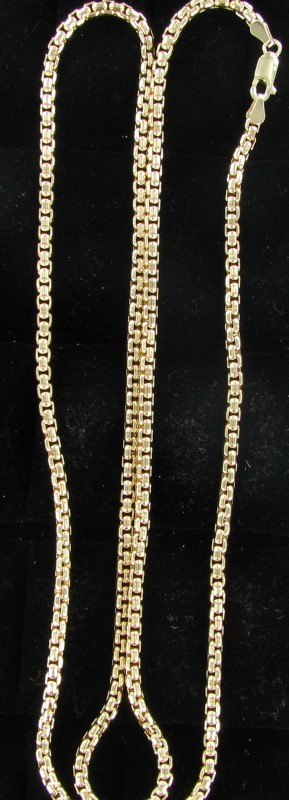 Gold Chain 10K Yellow Gold 26.1dwt