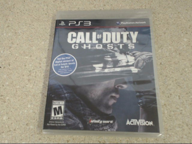 CALL OF DUTY GHOSTS - PS3 GAME - NEW SEALED