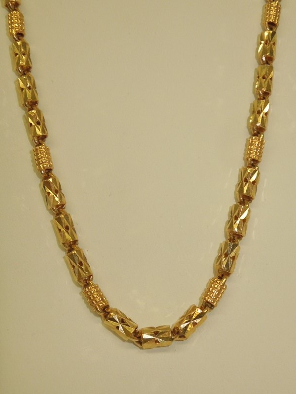 "24"" Gold Fashion Chain 18K Yellow Gold 43.1g"