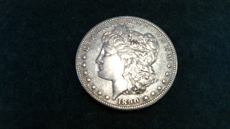 UNITED STATES Silver Coin 1890 MORGAN SILVER DOLLAR