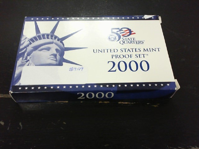 UNITED STATES Proof Set UNITED STATES MINT PROOF SET 2000
