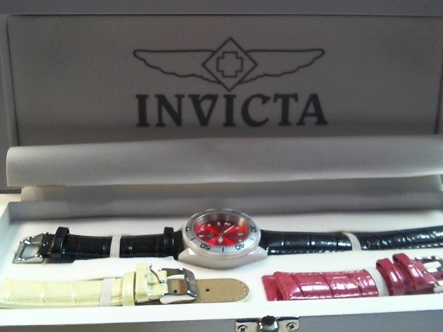 INVICTA Lady's Wristwatch 10259 CERAMICS