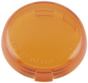 BIKERS CHOICE Motorcycle Part 489940 AMBER NEWER MODEL SIGNAL LENS