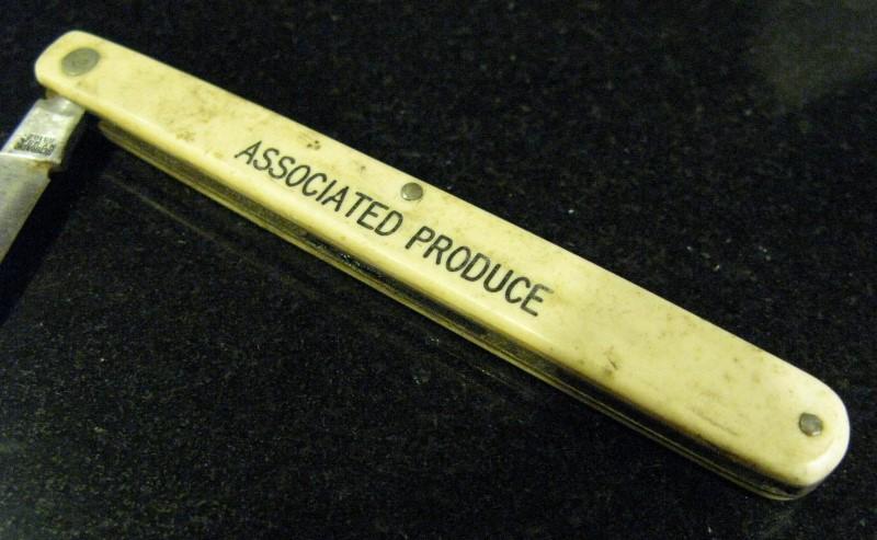 Schrade SS102 Fruit Sampler Single Blade Derlin Handle Pocket Knife