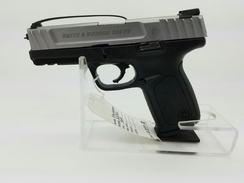9MM SD9VE PISTOL-SEMI AUTO S & W 9MM S&W SEMI AUTO PISTOL CHORME