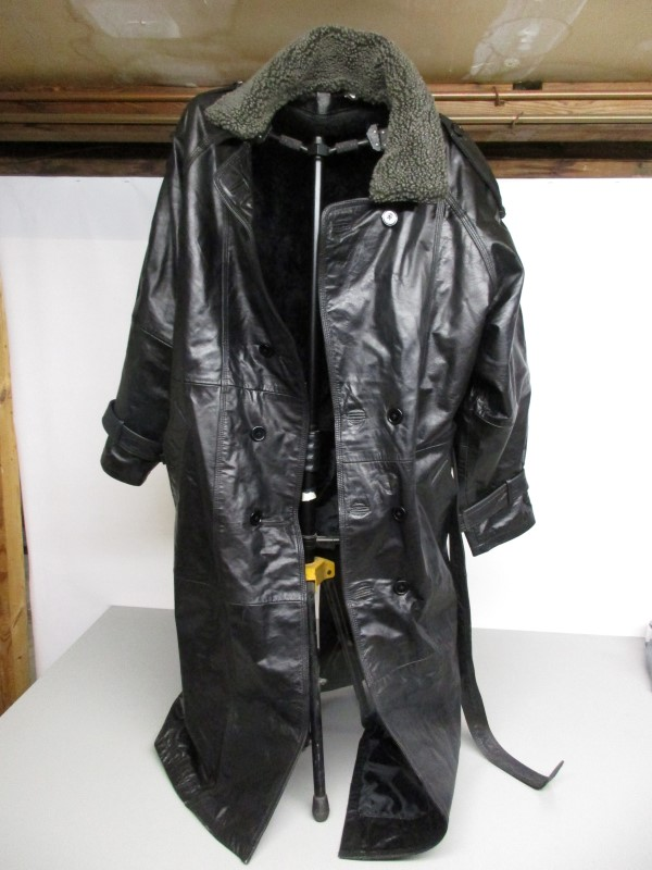 Coat/Jacket LEATHER COAT