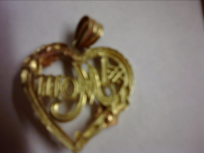 Gold Charm 14K Yellow Gold 1.55dwt