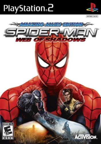 SONY Sony PlayStation 2 Game SPIDERMAN WEB OF SHADOWS