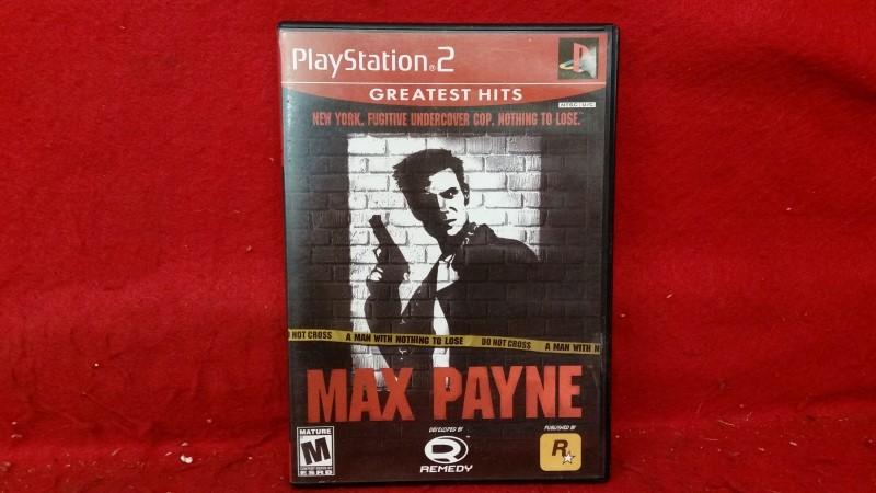 PlayStation 2 PS2 Game - Max Payne