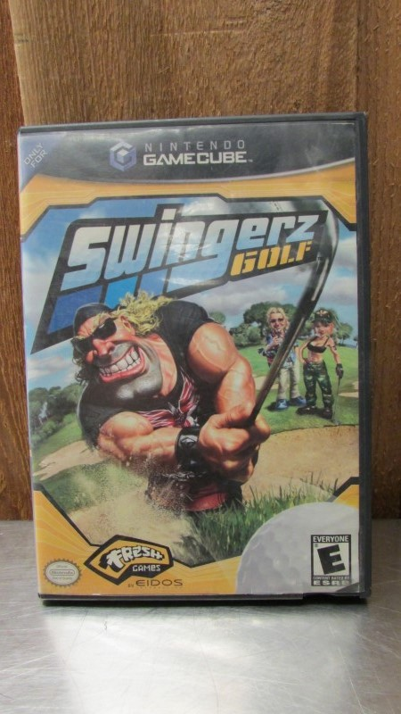 NINTENDO Nintendo GameCube Game SWINGERZ GOLF