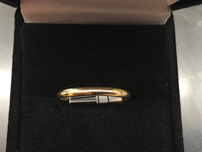 Lady's Gold Ring 14K Yellow Gold 0.88dwt