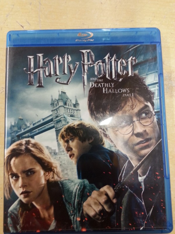 HARRY Blu-Ray DEATHLY HALLOWS PART 1