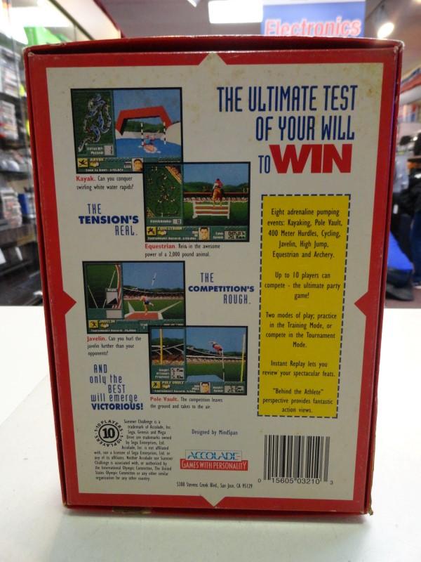 Summer Challenge - Sega Genesis