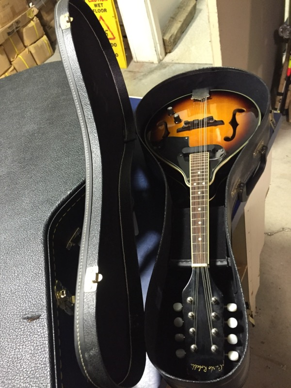 Carlo Robelli TM002 Mandolin w/ Hard Case