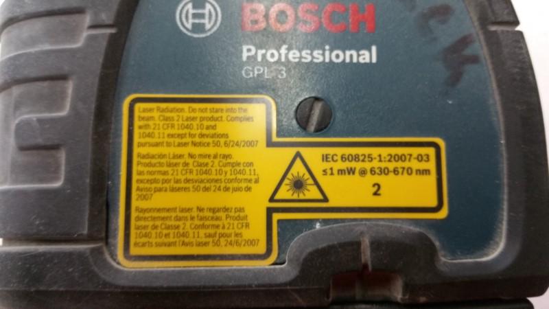 BOSCH Laser Level GPL3