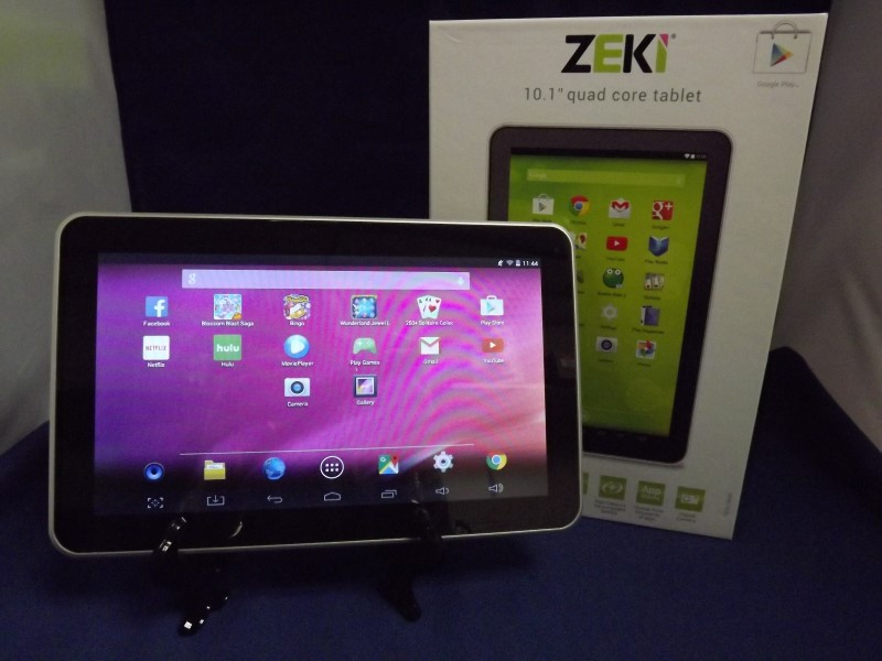 ZEKI QUAD CORE TABLET TBQG1084B