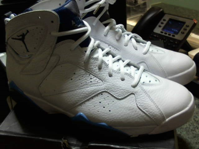 "AIR JORDAN RETRO 7 ""FRENCH BLUE"" SIZE 13"