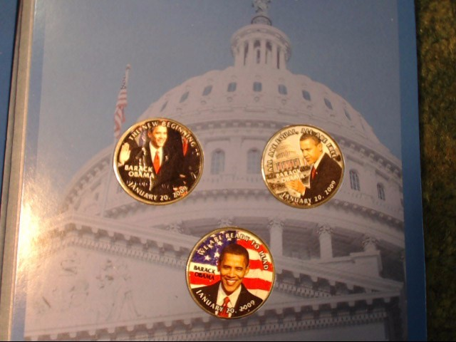 PRESIDENTIAL BARACK OBAMA COIN