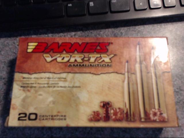 BARNES AMMUNITION Ammunition VORTEX