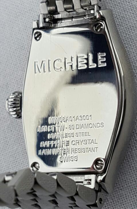 Michele MW08A01A3001 Stainless Steel Urban Coquette Diamond Watch