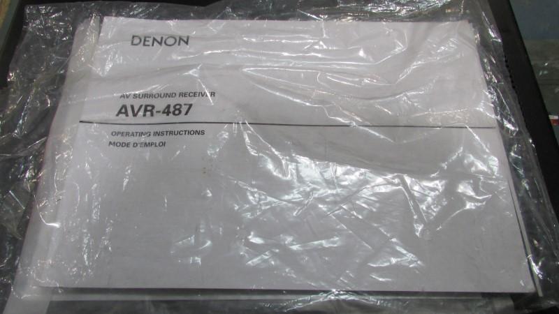 DENON Receiver AVR 487