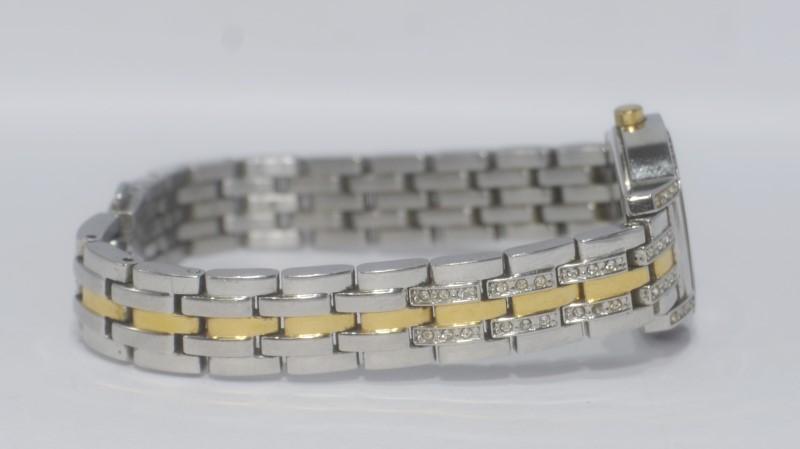 Citizen Eco-Drive Women's Two-Tone St. Steel MOP Face Bracelet Watch