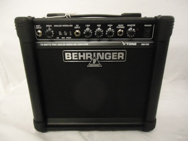 BEHRINGER Electric Guitar Amp V-TONE GM108