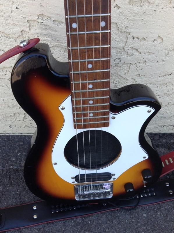 ARIA Electric Guitar AMG10 TRAVEL GUITAR