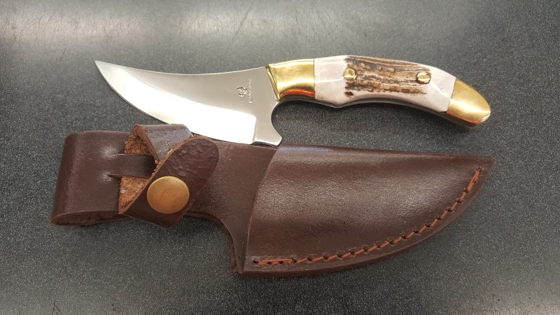 WHITETAILS UNLIMITED Hunting Knife CUTLERY KNIFE