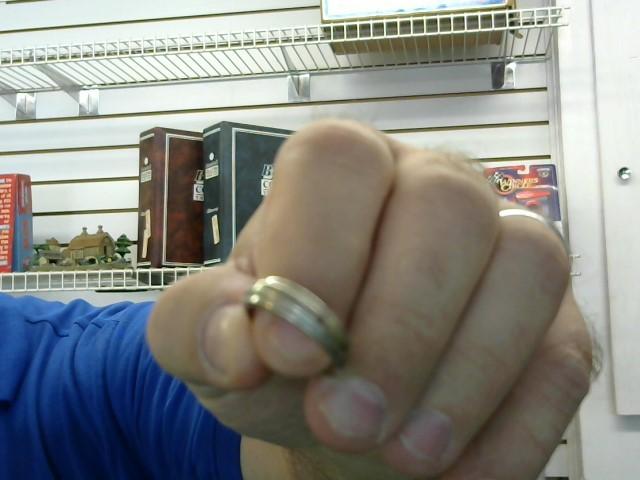 Gent's Gold Ring 10K White Gold 3.35g