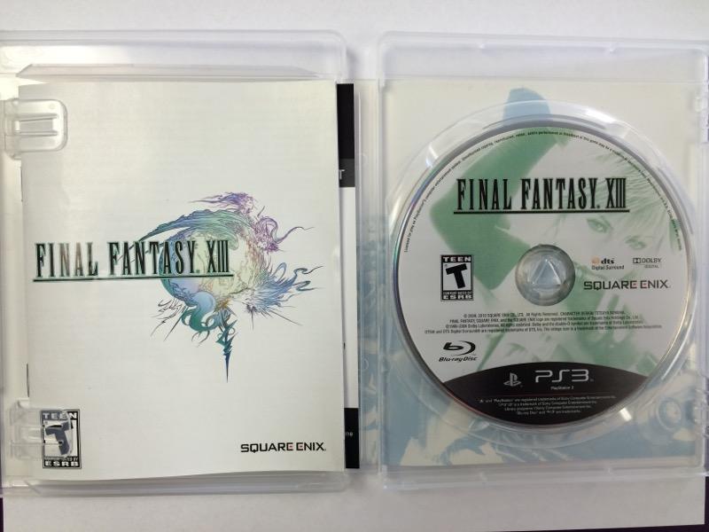 Final Fantasy XIII - (Sony Playstation 3, 2010) PS3